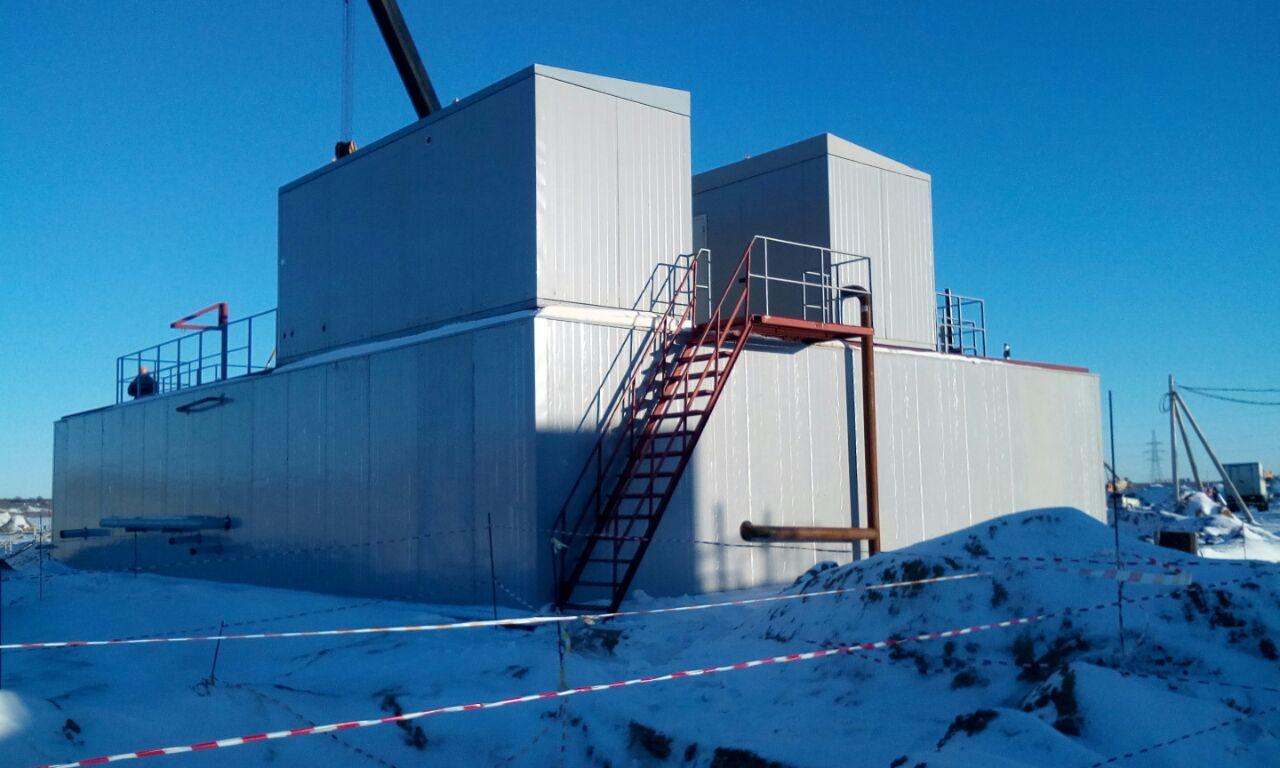 Поставка очистных сооружений для Курской АЭС